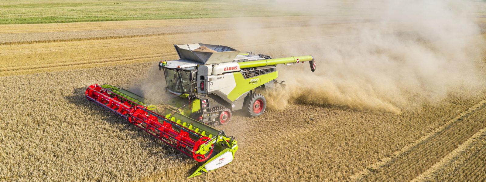 Lexion 8900 TT in der Weizenernte